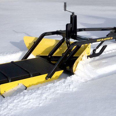sno-blaster narrow trail snow groomer