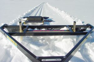 Making Cross Country Ski Tracks